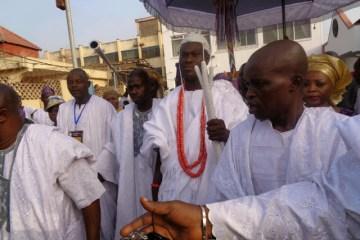 Ooni's coronation 1
