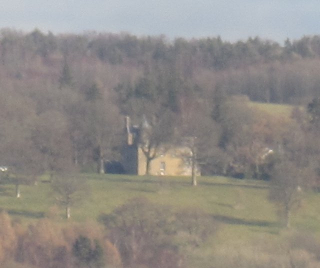 Boturich Castle. (FRom west shore as cannot be seen from east)