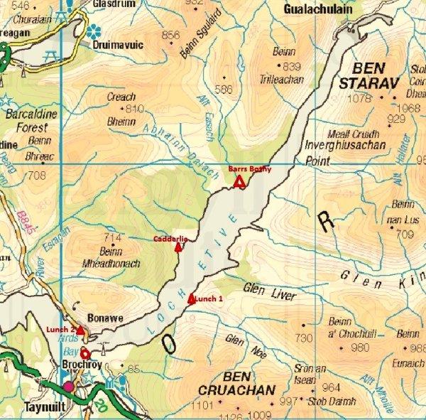 1-loch etive map