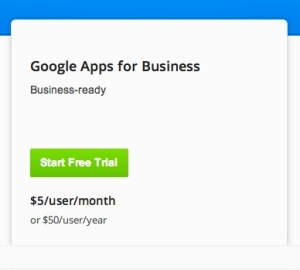 gapps pricing 300x270 Google Apps vs Outlook.com for free email hosting at your domain