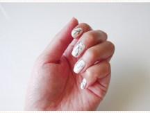 <span>Nail art</span> Blanc nature