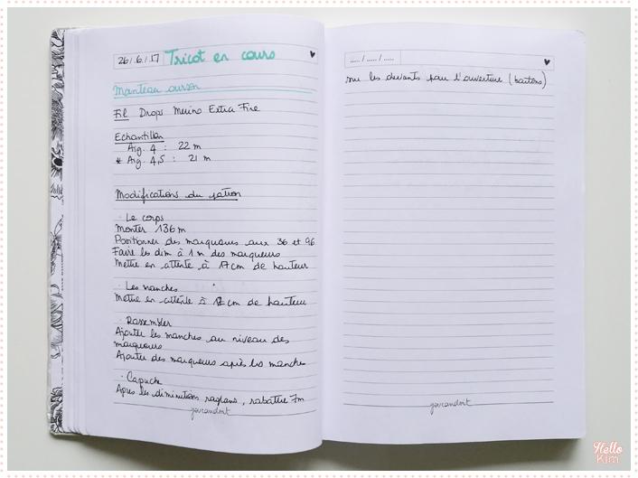 Bullet-journal_tricot-en-cours_HelloKim