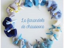 <span>Tricot Layette</span> La farandole de chaussons