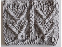 <span>Tricot</span> Le snood « Carole » avec explications et diagramme