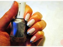 <span>Nail art</span> French chromée