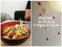 <span>Table</span> Chez Rice and fish, tout est dans le bol