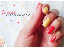 <span>Manucure</span> Je veux des couleurs d'été