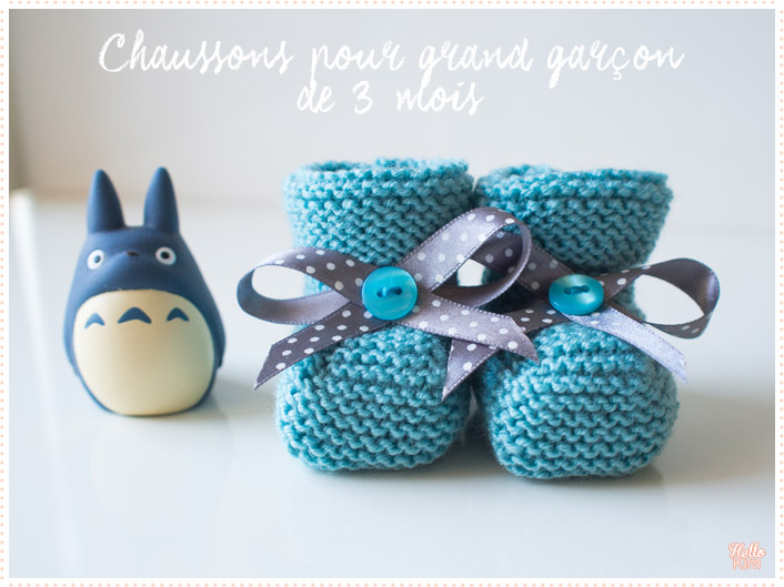 tricot-layette_chaussons-point-mousse-bleu-garcon-3mois_hellokim