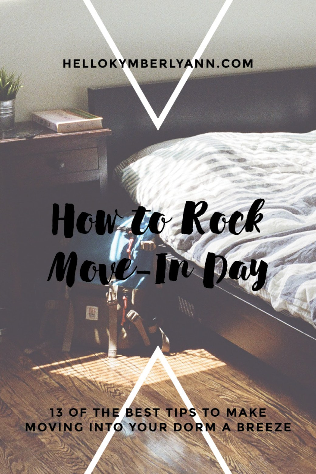 How to rock move in day: 13 of the best tips to mkae moving into your college dorm a breeze