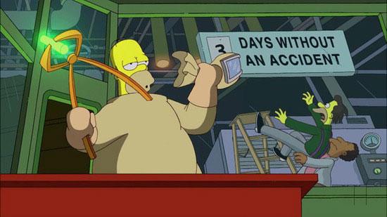 Homer Simpson works at Hanford.