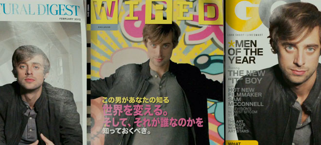 WIRED magazine is featured in the Mercedes Benz Soul ad.