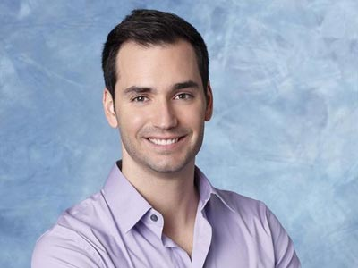 Chris on the Bachelorette.
