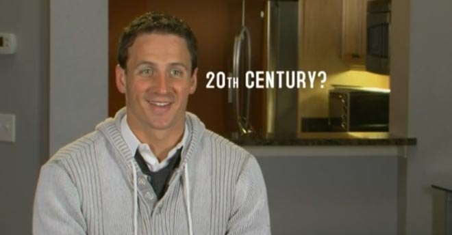 Ryan Lochte thinks it's the 20th century on WWRLD.