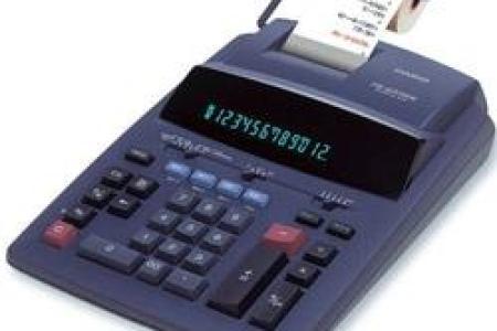 calculatrice imprimante 12 chiffres casio fr 620 tec 1485453