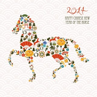 Happy Chinese New Year of the Horse 2014