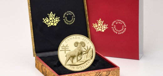 Year of the Sheep Lunar Coin at Royal Canadian Mint 2