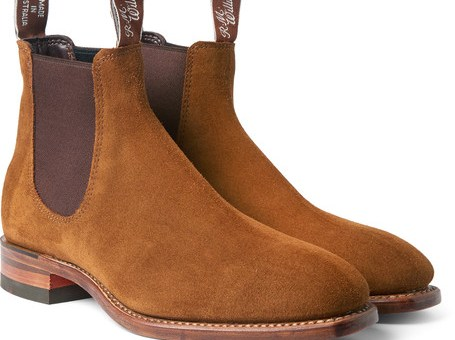 R.M.Williams Suede Chelsea Boots