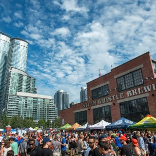 Steam Whistle's Roundhouse Craft Beer Festival -cc. Mike Palmer
