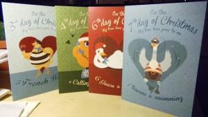 4 Christmas christmas cards