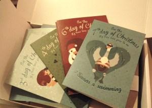 Helmetgirl Christmas Cards
