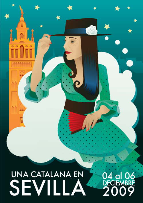 Marga in Sevilla poster
