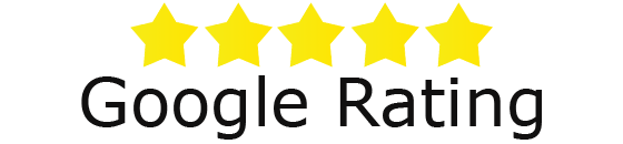 5 star google rating, google review, 5 stars
