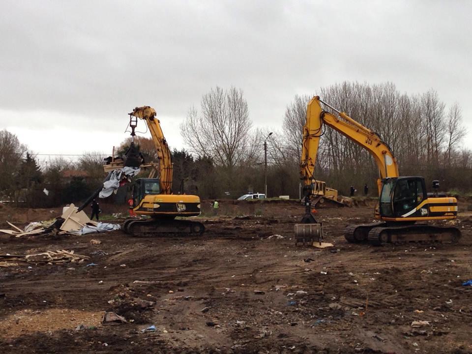 Calais update 1st Feb church demolition (1)