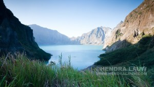 Mount Pinatubo's Crater