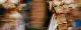 Legong Kuntul dance in Ubud Bali Indonesia