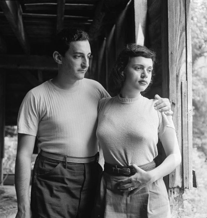 Herb and Miriam Abramson in 1947