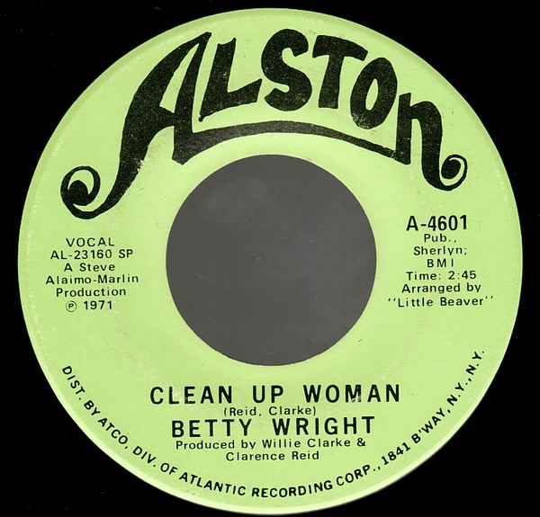 cleanup woman