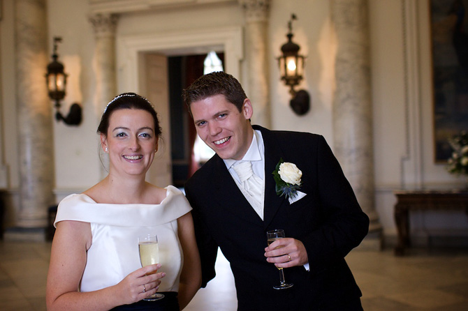 Clandon Park wedding