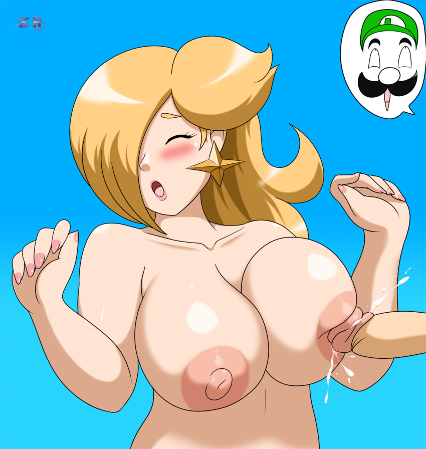 Something Super mario princess rosalina porn share