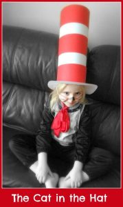 the cat in the hat costume