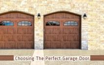 Choosing the Perfect Garage Door