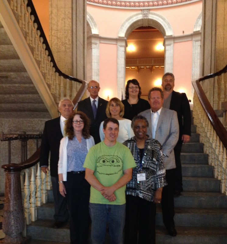 These passionate speakers shared their success stories with us today at the Statehouse