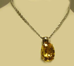 5.5ct Oval Yellow Beryl