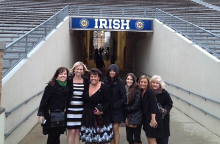 My Notre Dame ladies!