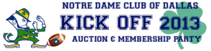 ND Dallas Kickoff Banner