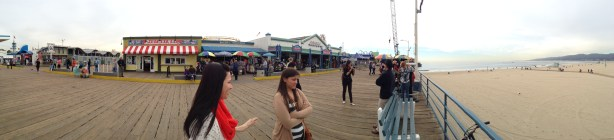 Santa Monica Pier Panoramic
