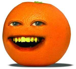orange mascot