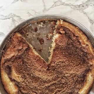Cinnamon Sugar Crumb Coffee Cake 4