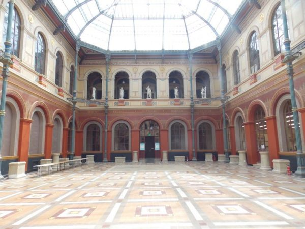 Palais des Etudes in 2015 AFTER the restorations.