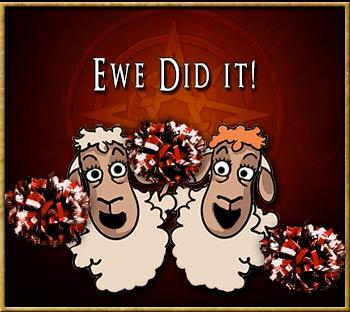 Ewe Did it!