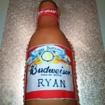 Budweiser Beer Cake