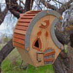 whimsical cottage birdhouse pattern