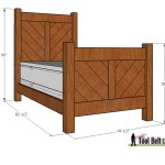 chevron bed overall dimensions