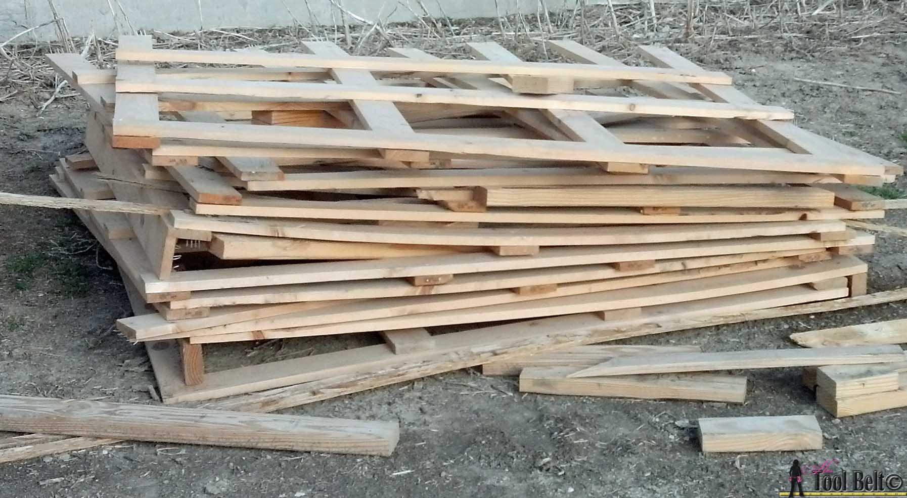 Build A Dresser From Pallets