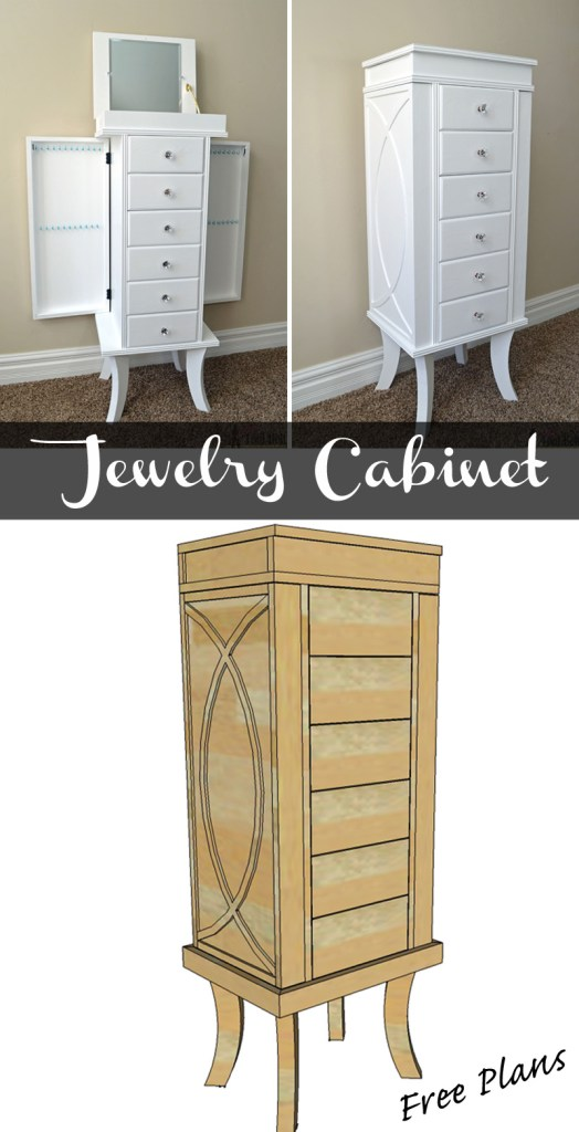 Jewelry Cabinet Her Tool Belt