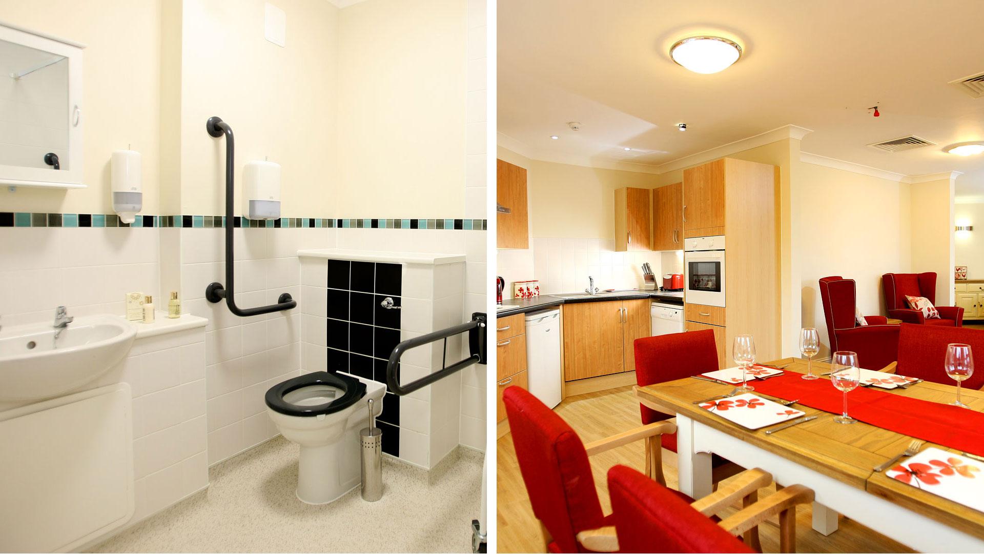 bathroom&dinning